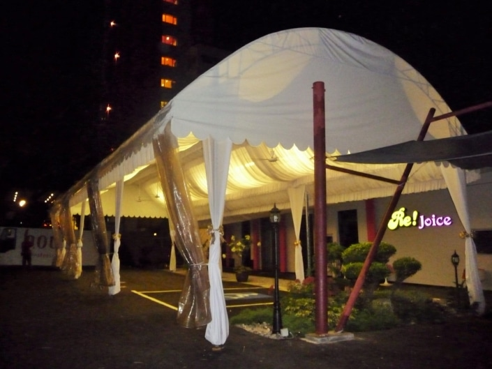 Dome Tentage with Inner Lining