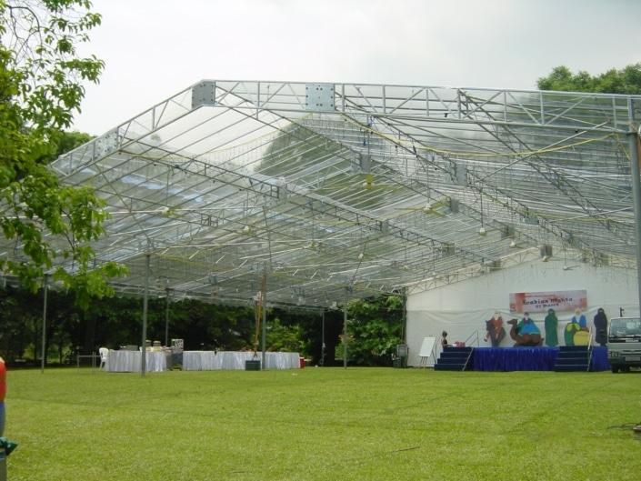 Transparent Tentage