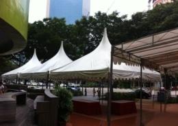 gazebo tent for running event