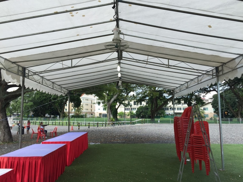 Chairs And Table Rental Tentage Rental Singapore