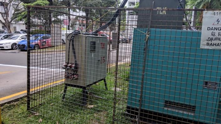 generator with DB box
