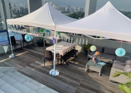 rooftop portable gazebo tent