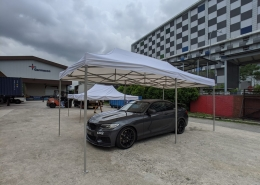 3m x 6m portable gazebo tent for cars