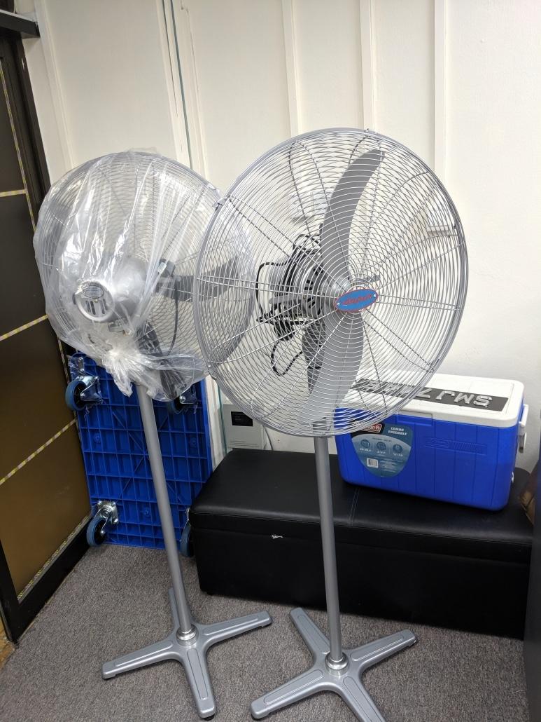 industrial standing fan