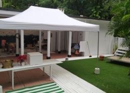 portable gazebo tent 3m x 4.5m for house party