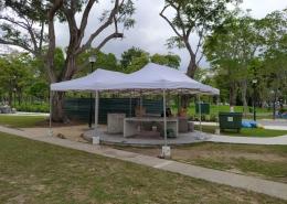 3m x 6m portable gazebo tent for east coast park BBQ