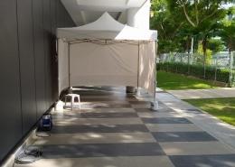 quarantine tent for shopping mall