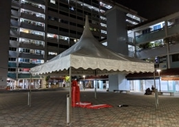 gazebo tent for grassroot event
