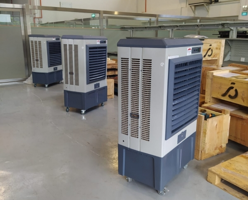 Large air cooler for office setting