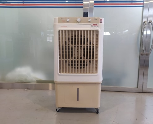 medium air cooler front view