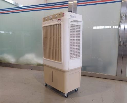 medium air cooler side view